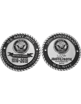 Stock 5K 2016 U.S. Navy JROTC Coin