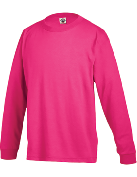 Youth Long Sleeve T-Shirt 61070 Heliconia