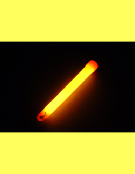 6in Light Stick Orange 5 Minute 605MO10B 10 Count