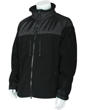Enhanced ECWCS Fleece Jacket/Liner Black Size Medium