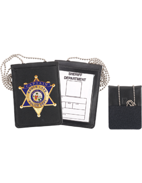 Neck Badge And ID Holder With Chain 71600