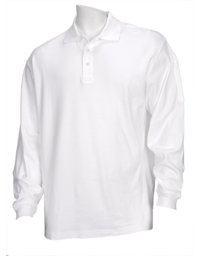 Tactical 5.11 L/S Polo Shirt 72048-010-01 White