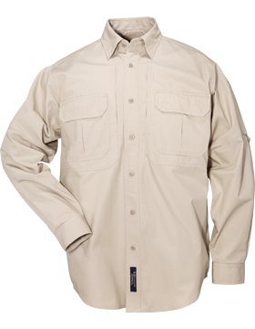 Ladies Long Sleeve Tactical Shirt Khaki 62063-055 Size Large