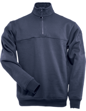 Quarter Zip Job Shirt 72314