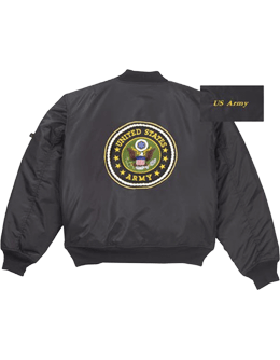 MA-1 U.S. Army Logo Flight Jacket