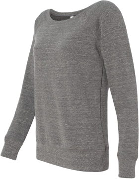 Bella Ladies Wide Neck Sweatshirt 7501