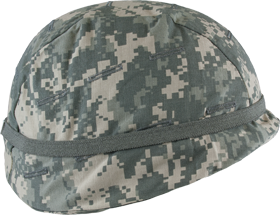 ACU Helmet Cover with Button Holes 8106-B
