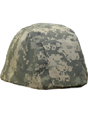 ACU Mich Helmet Cover with Flap 8106