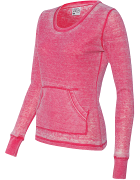 Vintage Zen Thermal Long Sleeve T-Shirt 8255 Wildberry