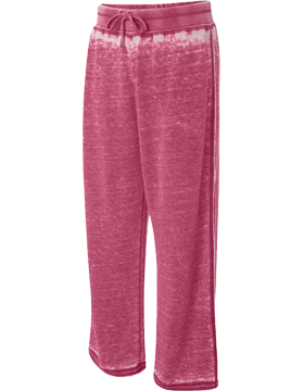 Ladies' Zen Fleece Sweatpant 8914 Wildberry