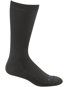 Bates Tactical Dress Sock Mid Calf Black 9305-001
