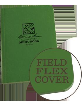 Rite in Raine Green Memo Book Style 954