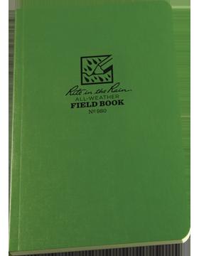 Rite in Raine Green Field Book980
