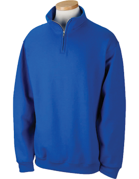 Jerzees Quarter-Zip Cadet Collar Sweatshirt 995M