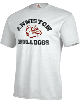 Anniston Bulldogs T-Shirt D11A