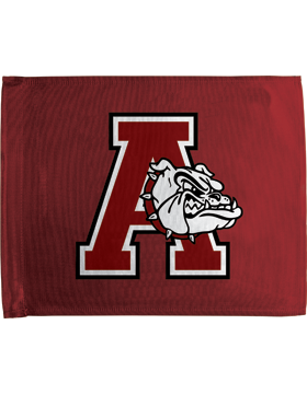 Anniston Bulldogs Car Flag