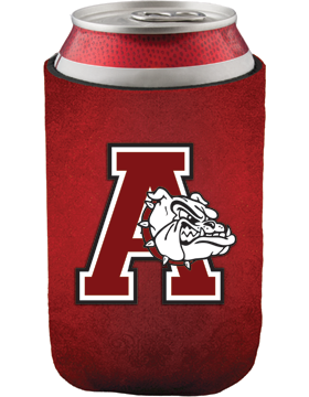 Anniston Bulldogs Slip-On Collapsible Can Insulator