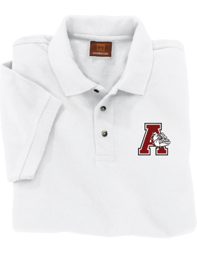 Anniston Bulldogs Harriton Pique Polo