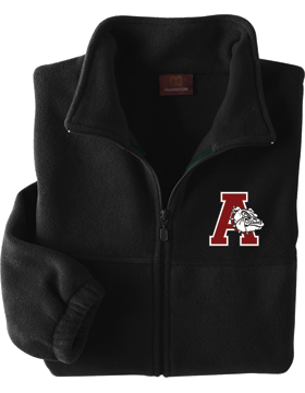Anniston Bulldogs Harriton Full-Zip Fleece