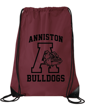 Anniston Bulldogs Drawstring Pack