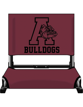 Anniston Bulldogs Canvas Stadium Chair