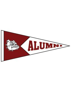 Anniston with Alumni Pennant Sticker