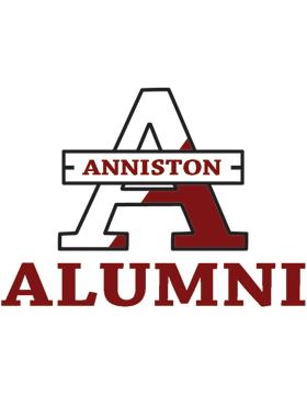 Anniston with Alumni Square Sticker
