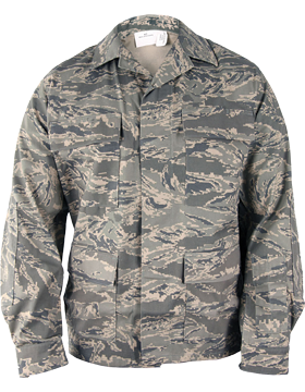 Airman Battle Uniform Coat 50/50 Nylon/Cotton Ripstop