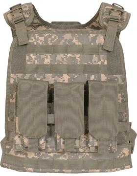 Modular Plate Carrier Vest ACU 65-287