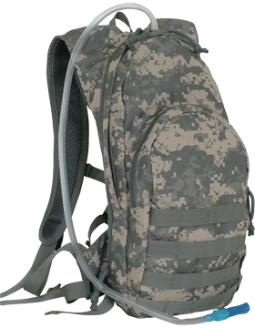 Compact MOLLE Hydration Backpack ACU 56-357