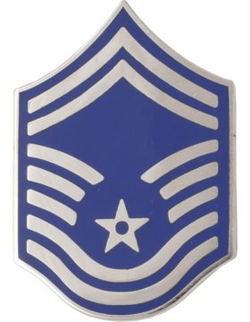 Air Force No Shine Rank Senior Master Sergeant