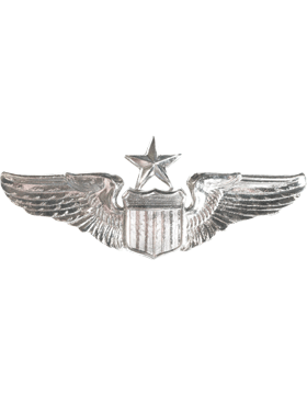 USAF Badge No Shine Senior Pilot