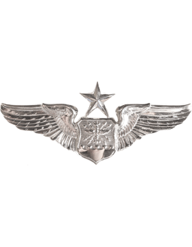 USAF Badge No Shine Senior Navigator Observer