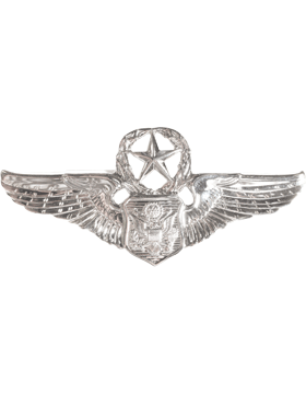 USAF Badge No Shine Master Non-Rated Aircrew