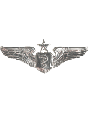 USAF Badge No Shine Senior Flight Surgeon
