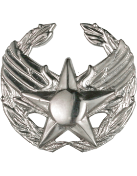 Air Force No Shine Full Size Commanders Badge