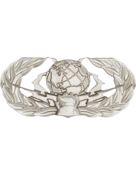 Air Force Badge No Shine Full Size Enlisted Cyberspace Operator