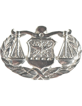 Air Force Badge No Shine Full Size Judge Advocate