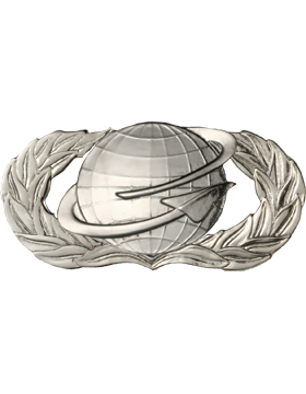 Air Force Badge No Shine Full Size Manpower and Personnel