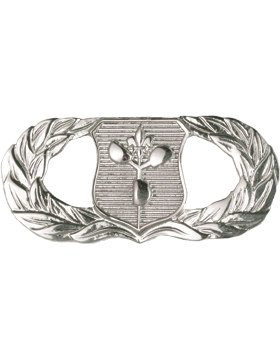 Air Force Badge No Shine Full Size Weather Operations
