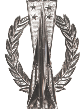 USAF Badge No Shine Basic Missile Operator