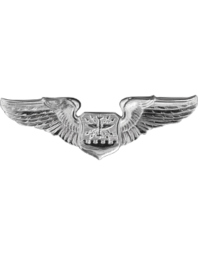 Air Force Badge No Shine Mid-Size Navigator Observer