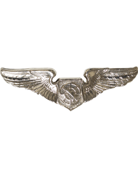 Air Force Badge No Shine Mid-Size Air Battle Manager