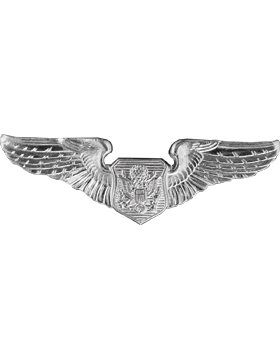 Air Force Badge No Shine Mid-Size Non-Rated Officer Aircrew