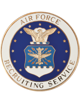USAF Recruiting Badge, Regular Size