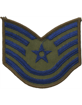 USAF Chevron (AF-C205/S) Technical Sergeant Subdued Small (Pair)