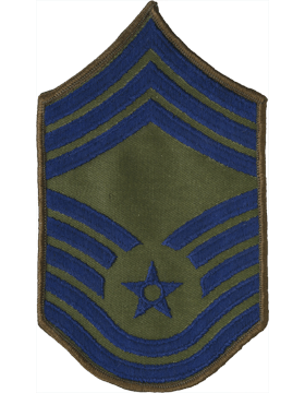 USAF Chevron (AF-C110/L) Chief Master Sergeant Subdued Large (Pair)