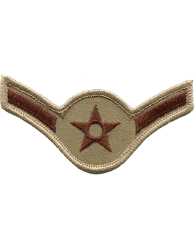 Air Force Chevron Desert (Pair) Airman