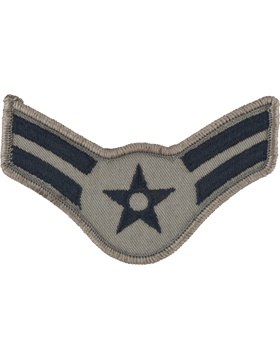 USAF Chevron (AF-C702/L) Airman First Class ABU Large (Pair)