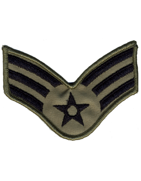 USAF Chevron (AF-C703/L) Senior Airman ABU Large (Pair)